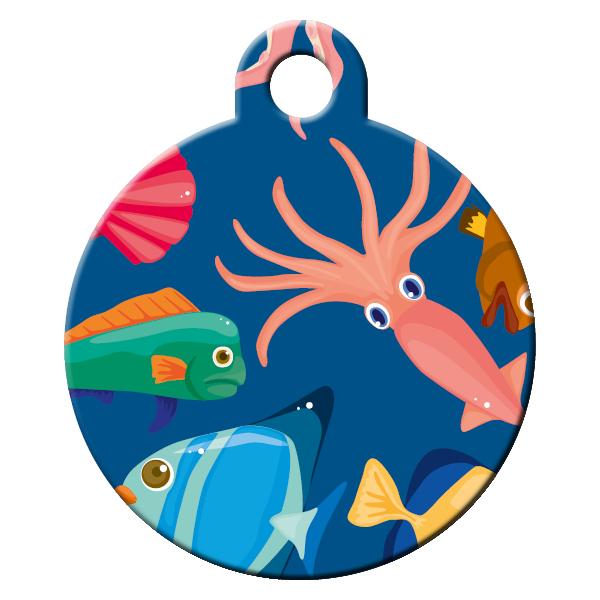 Diver dog ID tag