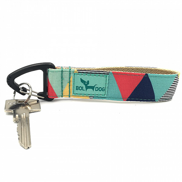 Zigzag boy key holder