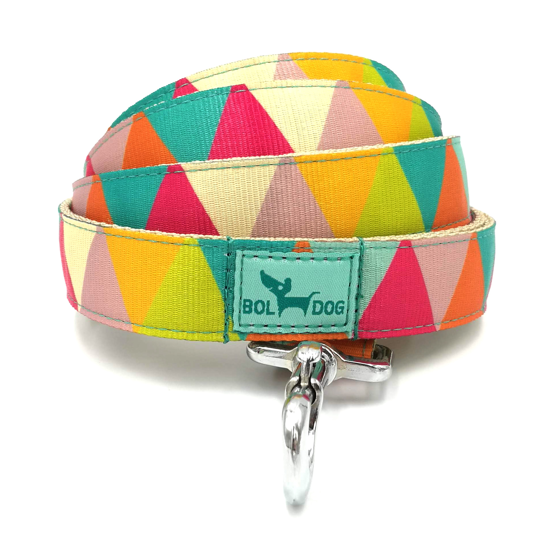 Zigzag girl dog leash