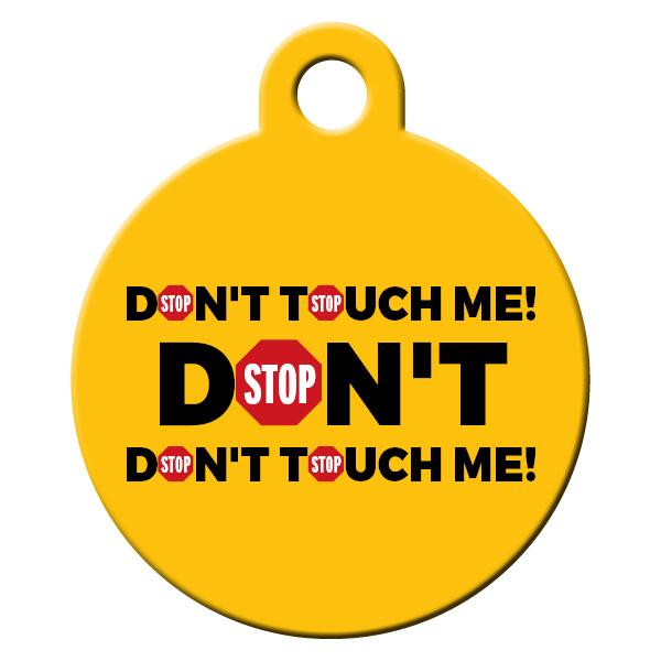 Dont touch citrom kutyabiléta