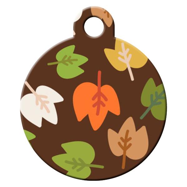 Leaf dog ID tag