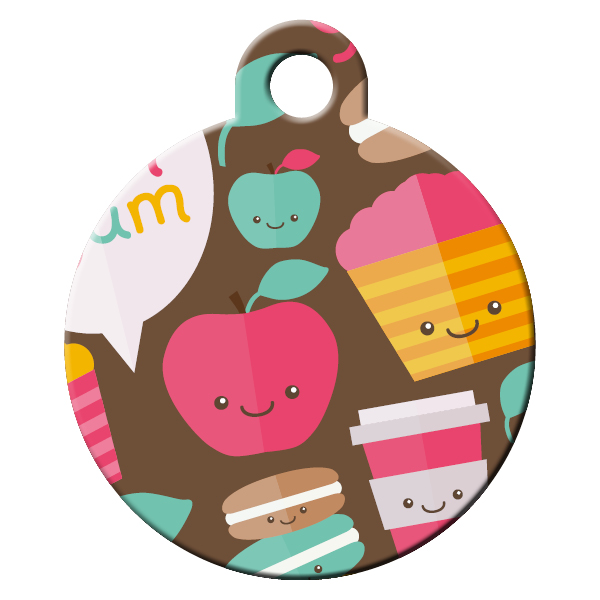 Coffe&Muffins dog ID tag