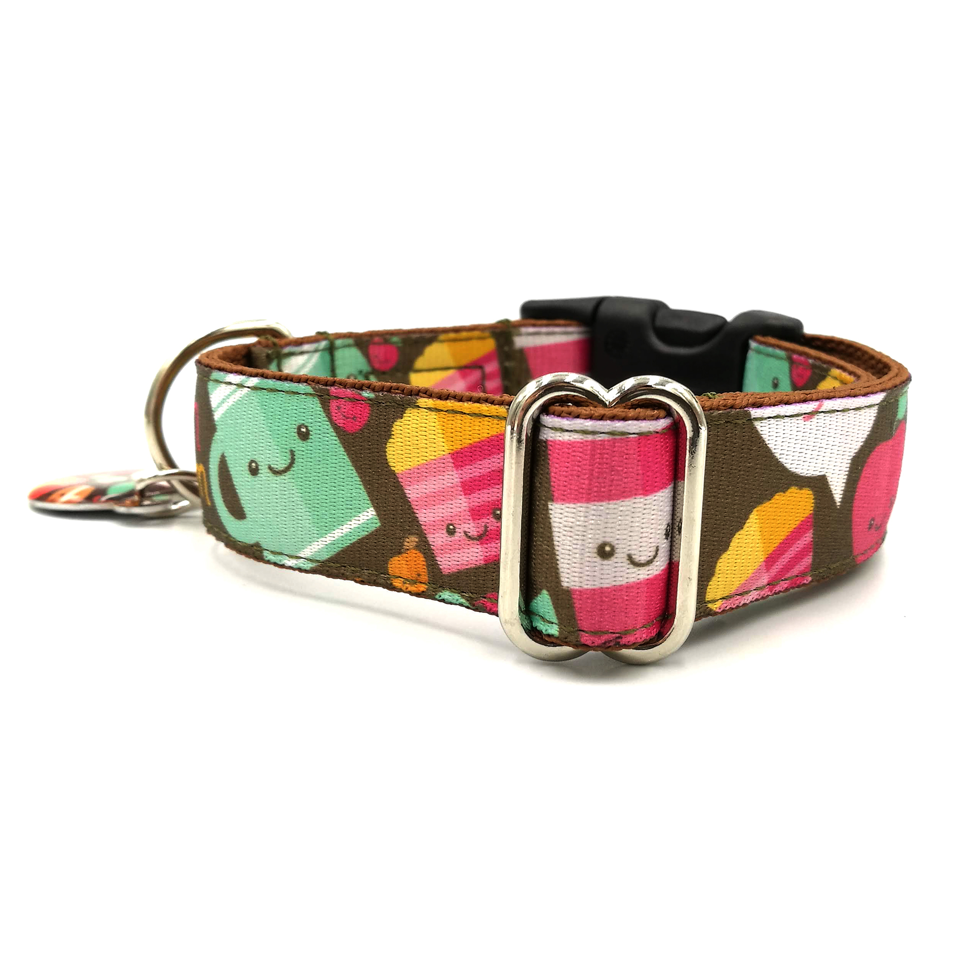 Coffe&Muffins dog collar