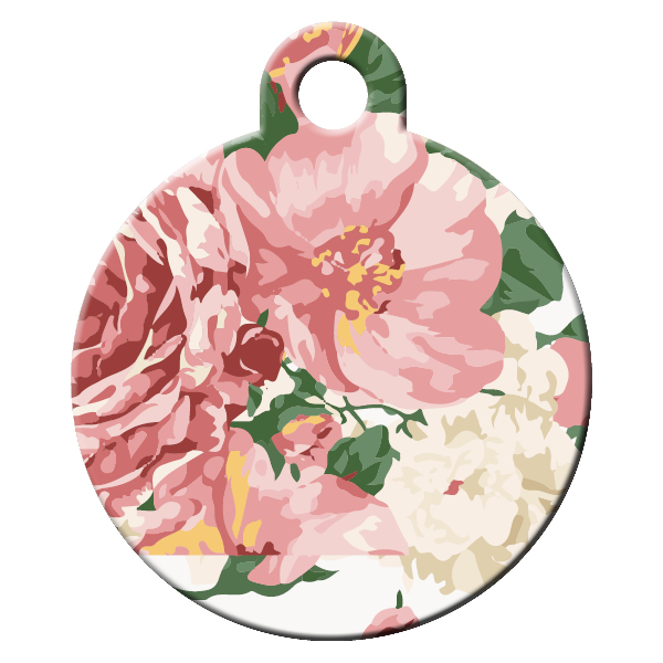 Rose dog ID tag