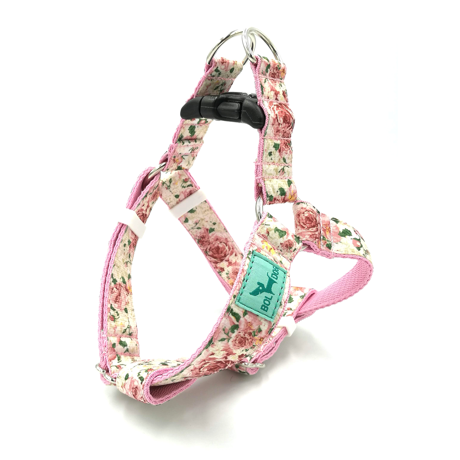 Rose dog harness