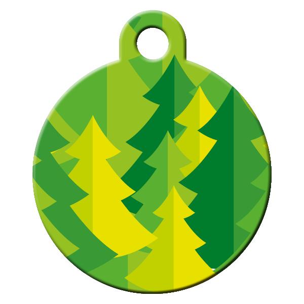 Forest dog ID tag