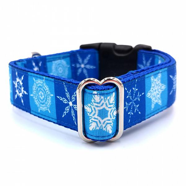 Snowflake dog collar