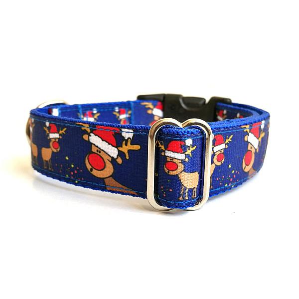 Rudolf kék kutya nyakörv