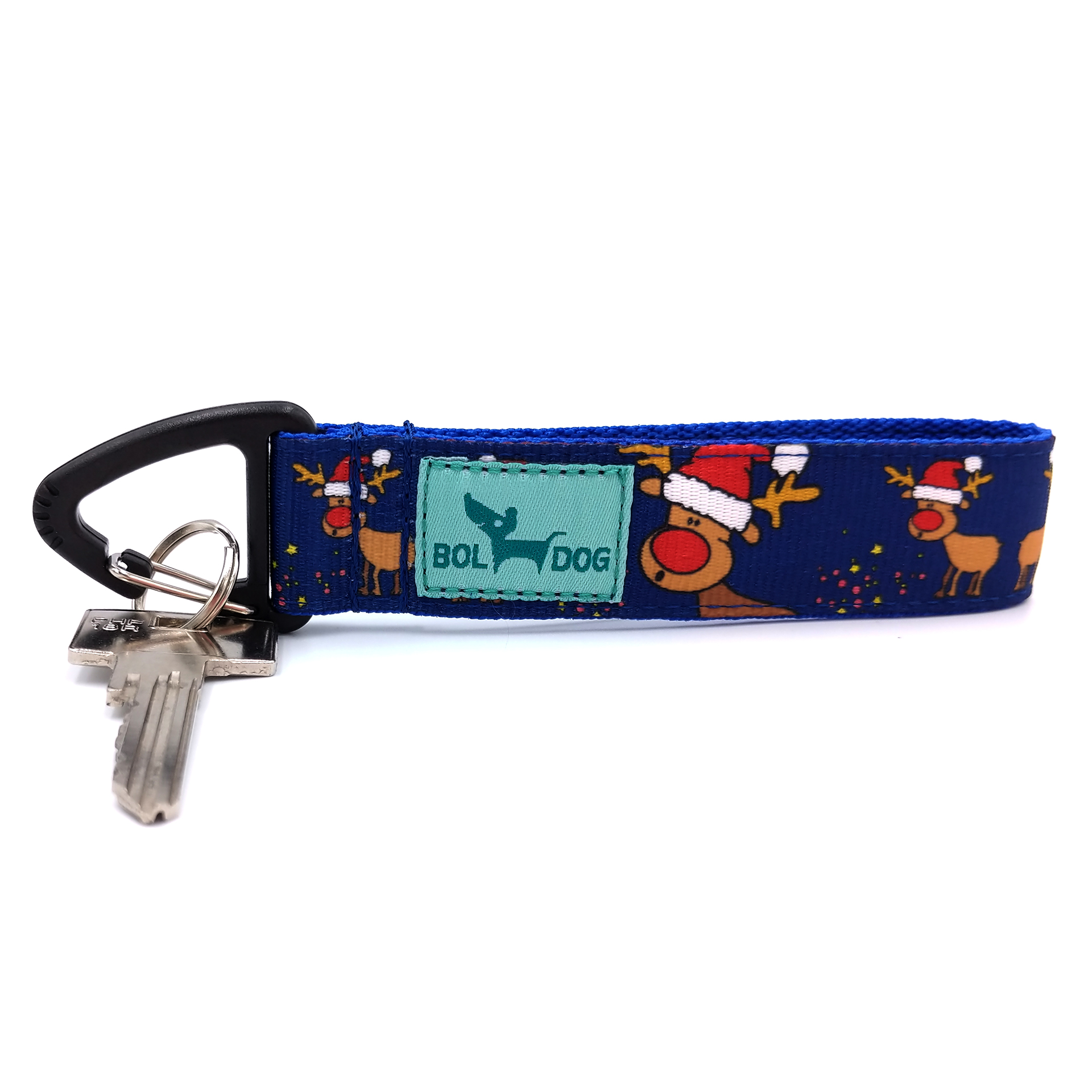 Rudolph blue key holder