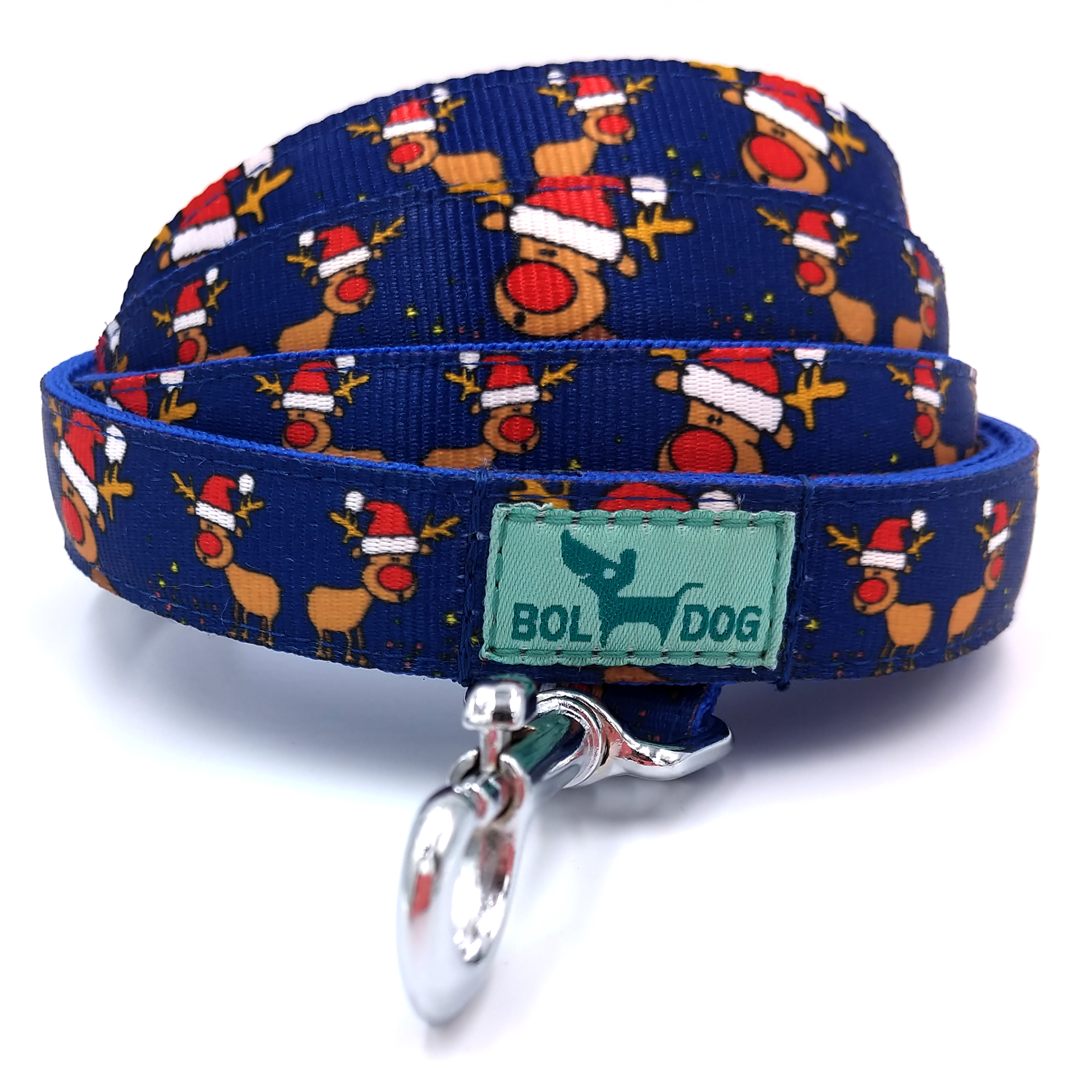 Rudolph blue dog leash
