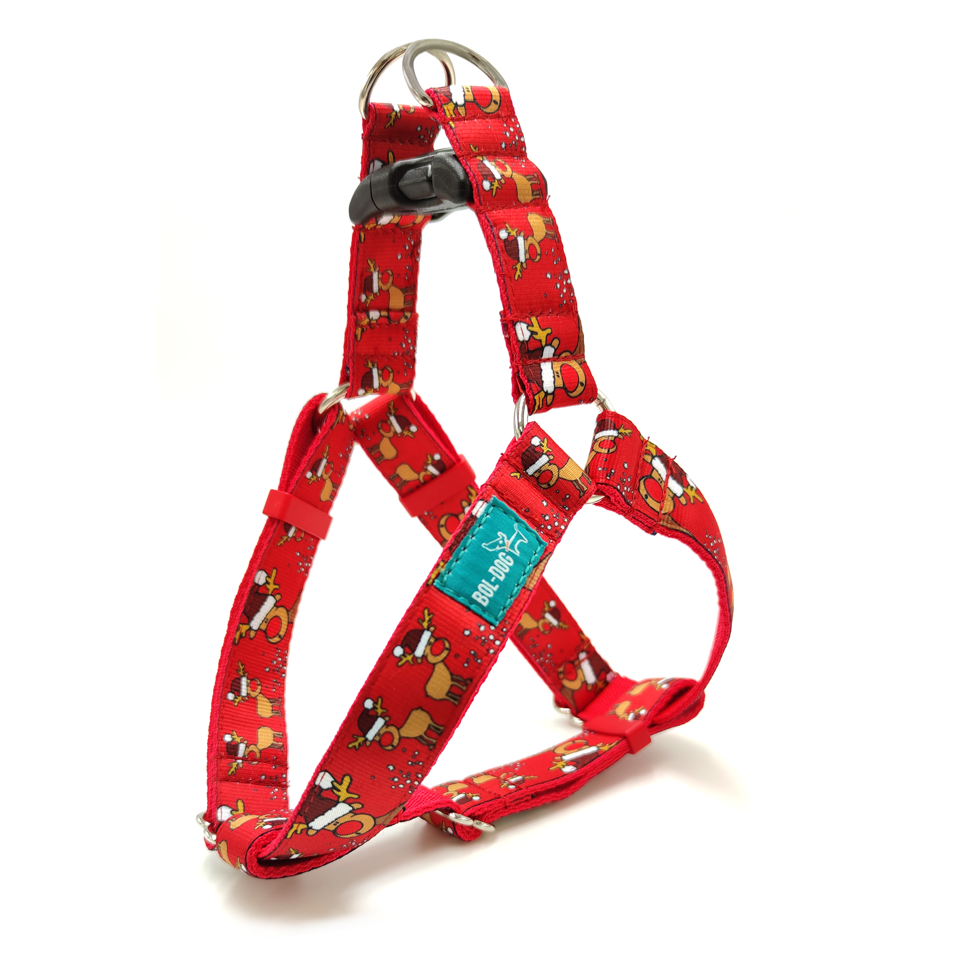 Rudolph red dog harness