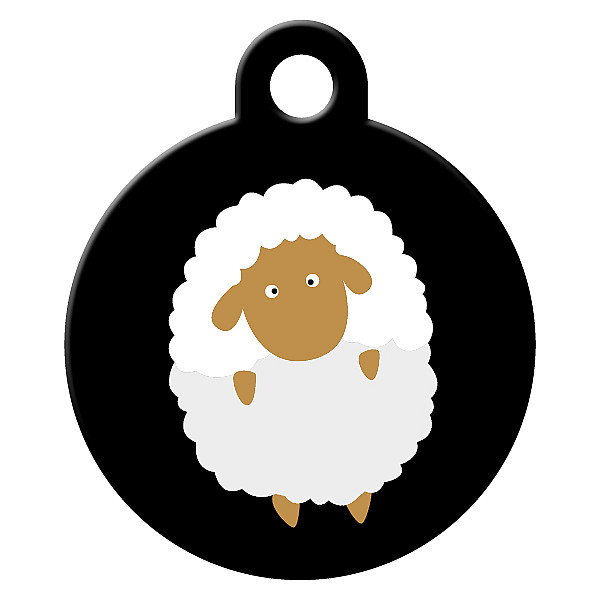 Sheeps dog ID tag