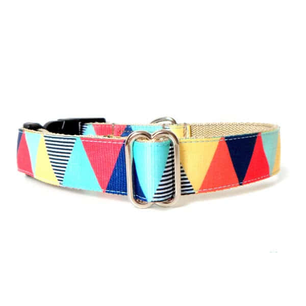 Zigzag boy collar