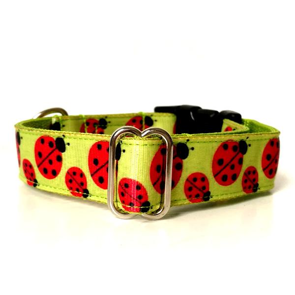 Ladybird dog collar