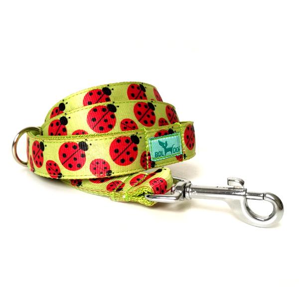 Ladybird dog leash