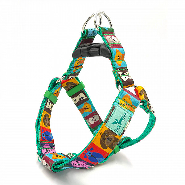 Dog school harness