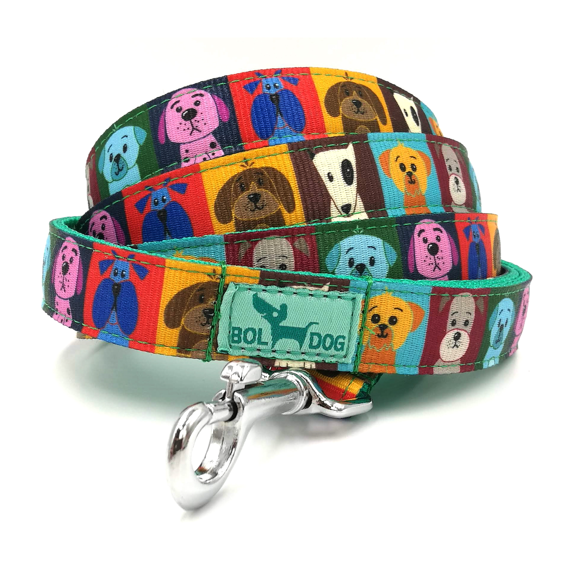 dog patterned leash