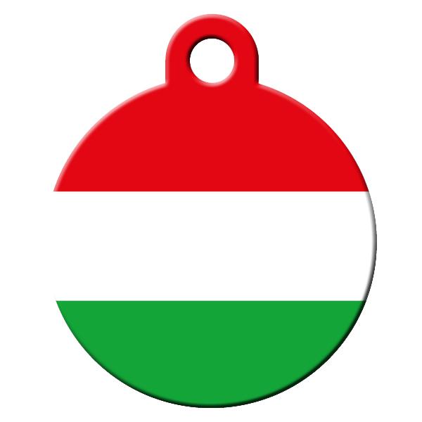 Hungarian dog ID tag