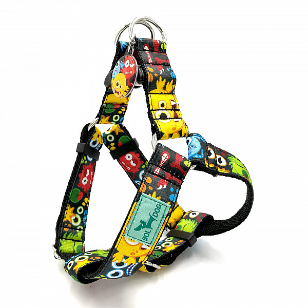 Monsters dog harness