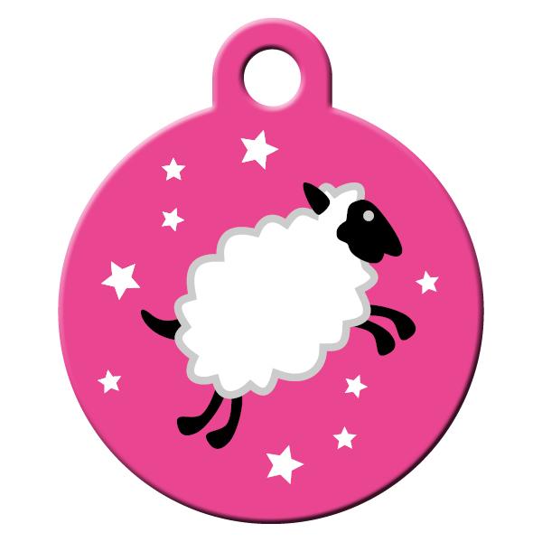 Bárány kergető pink kutyabiléta