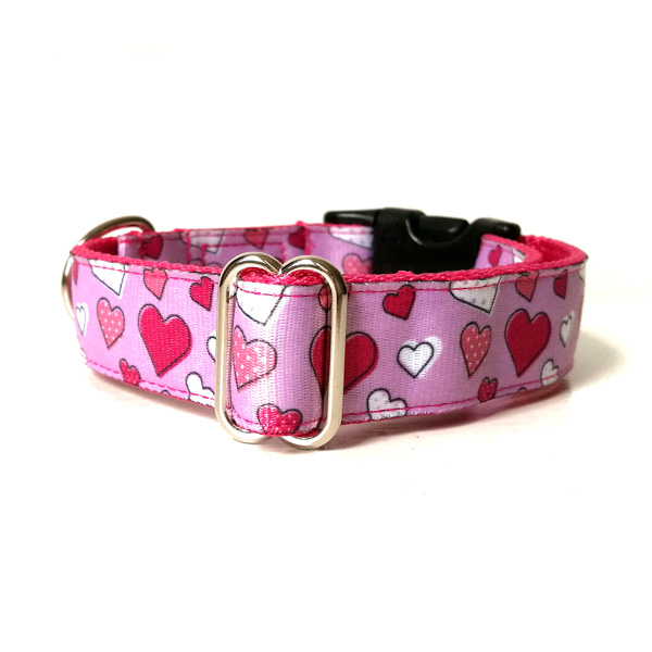 My heart dog collar