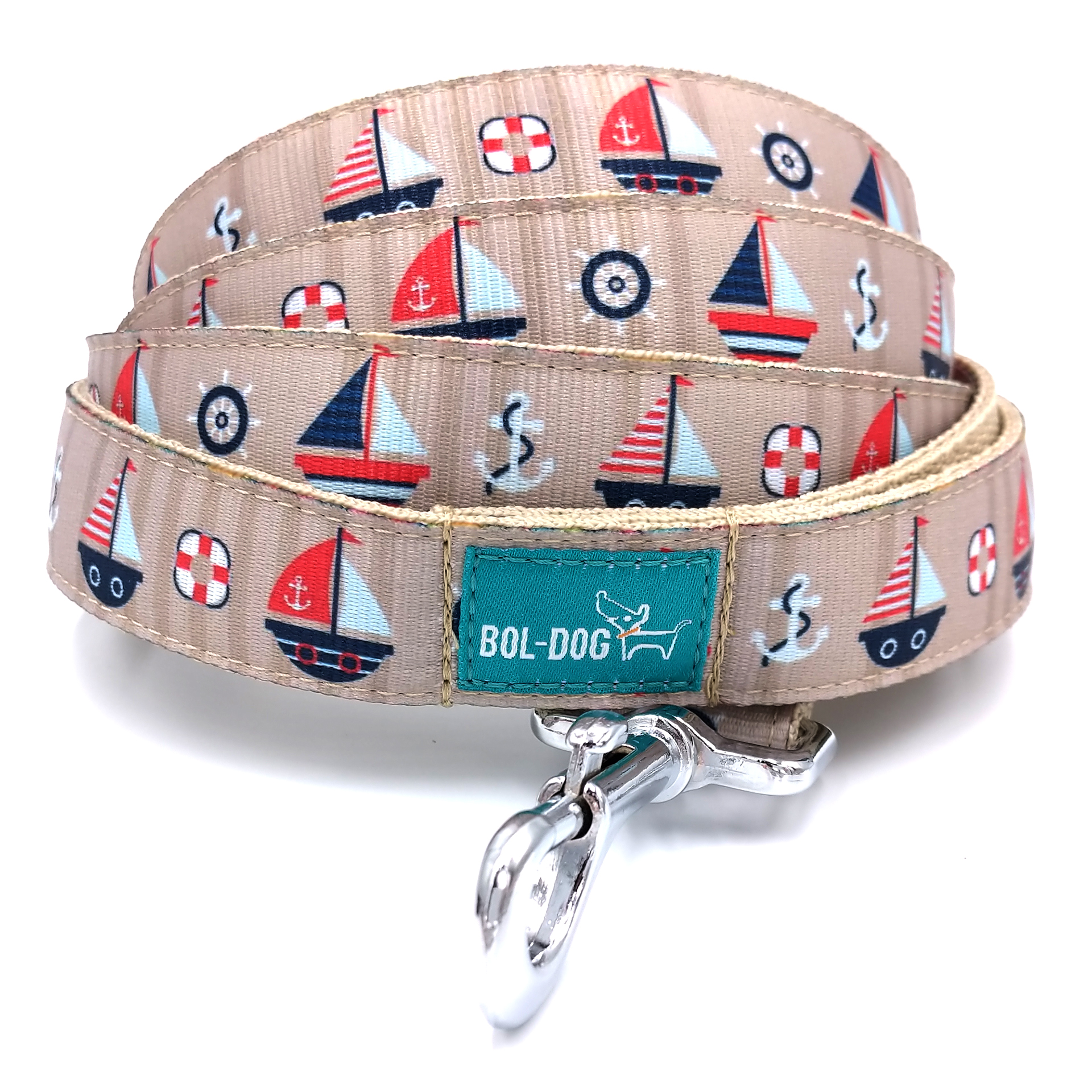 Raft dog leash