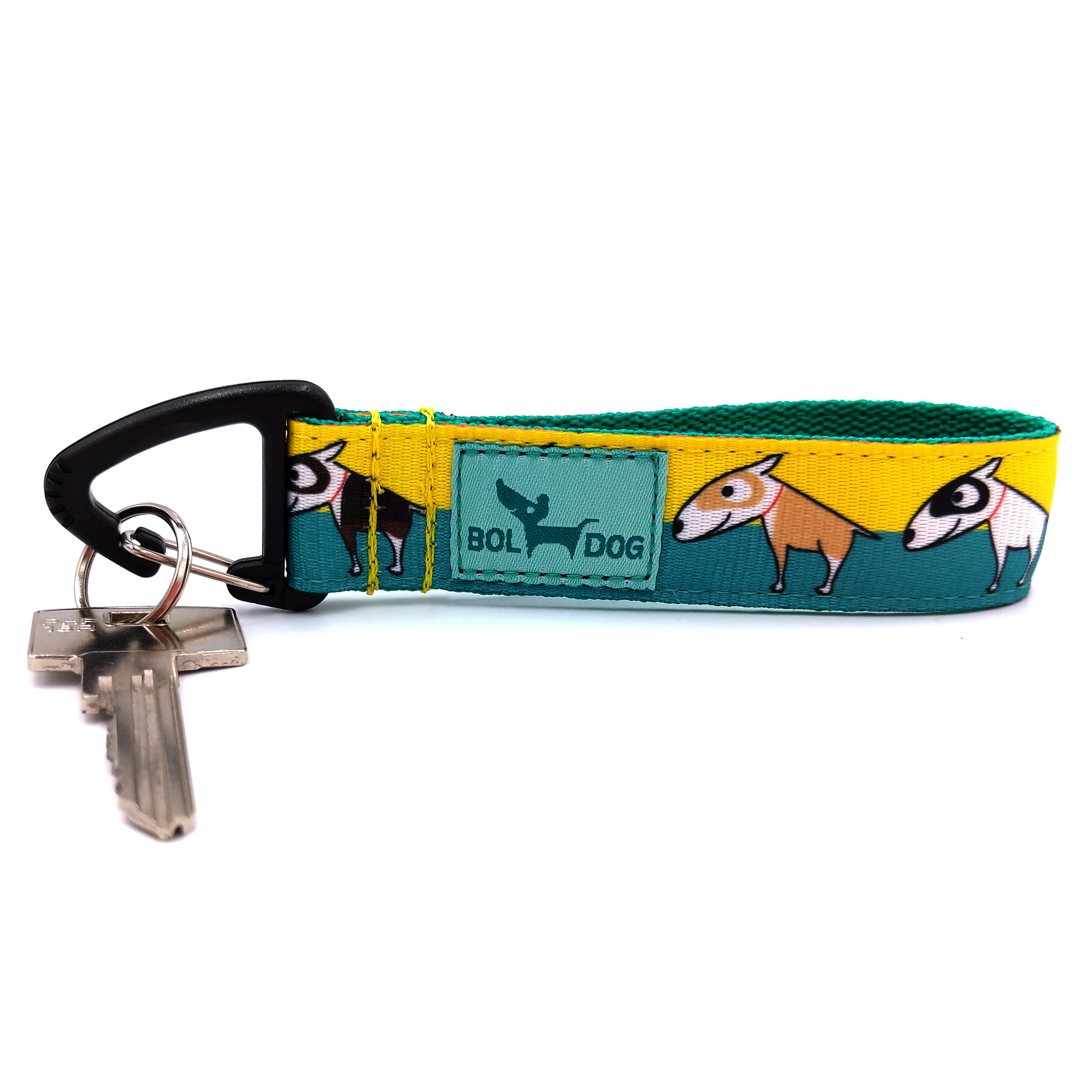 Bull terrier key holder