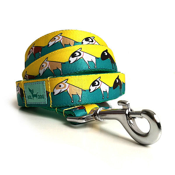 Bull terrier leash