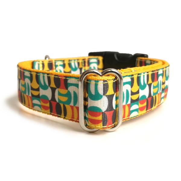 Tiles dog collar