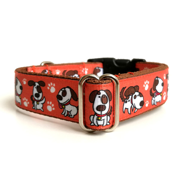 Spotted dog collar