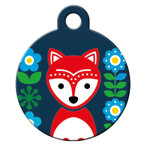 Fox dog ID tag