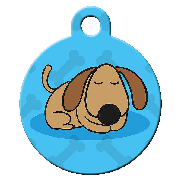 Chillin dog ID tag