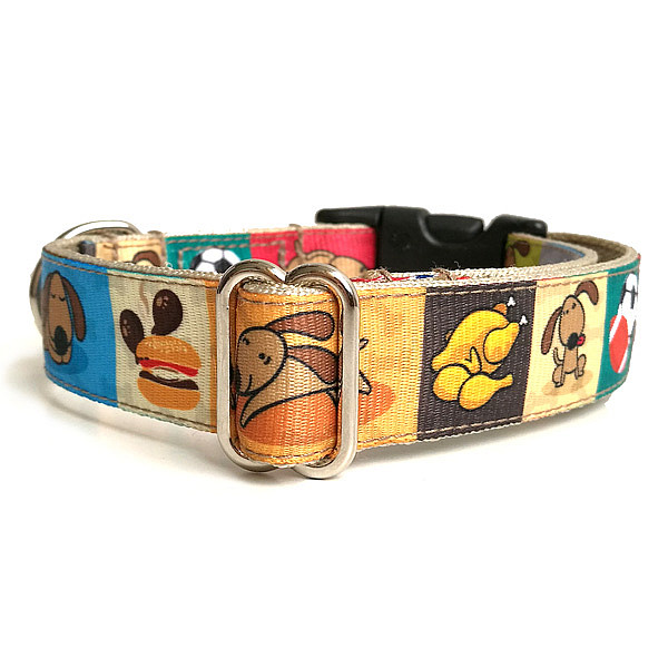 Chillin dog collar
