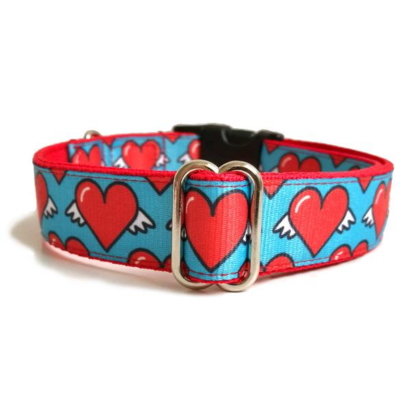 Free love dog collar
