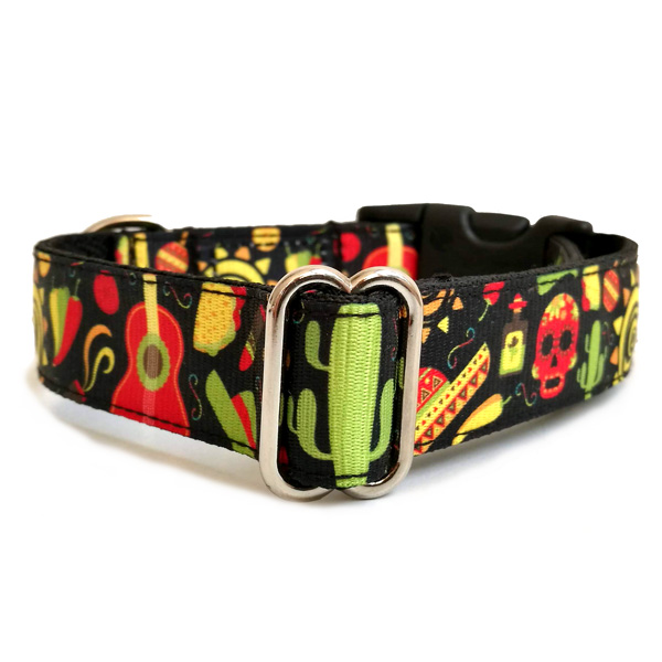Mexico dog collar
