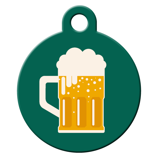 Beer dog ID tag