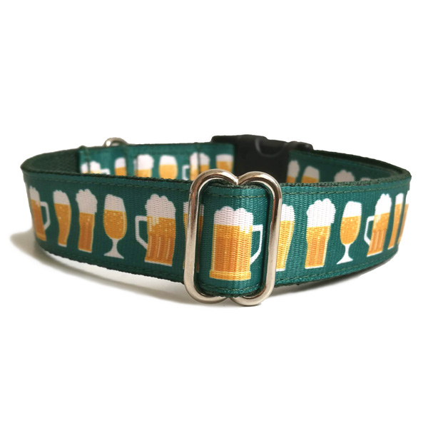 Beer dog collar