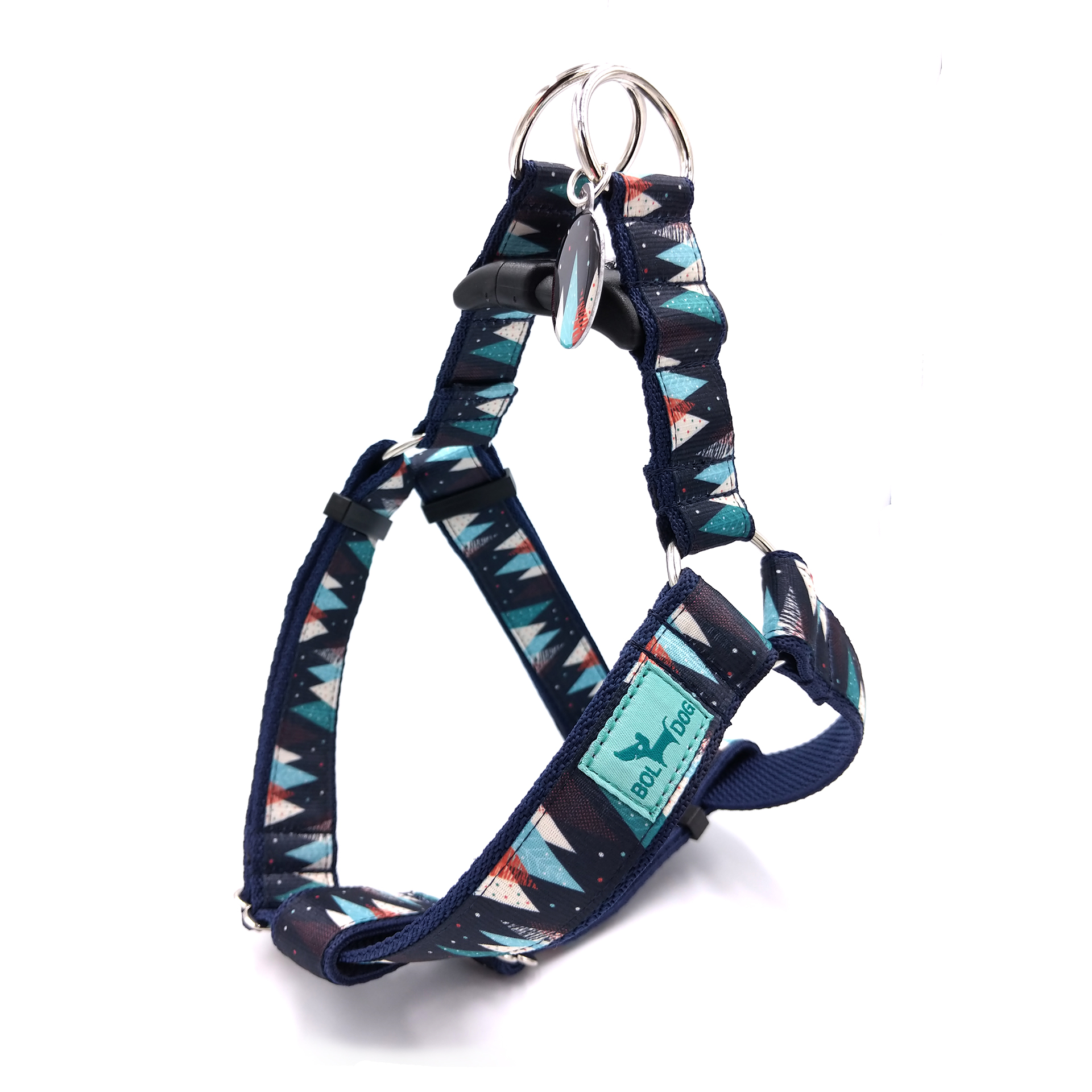 Trees dog harness