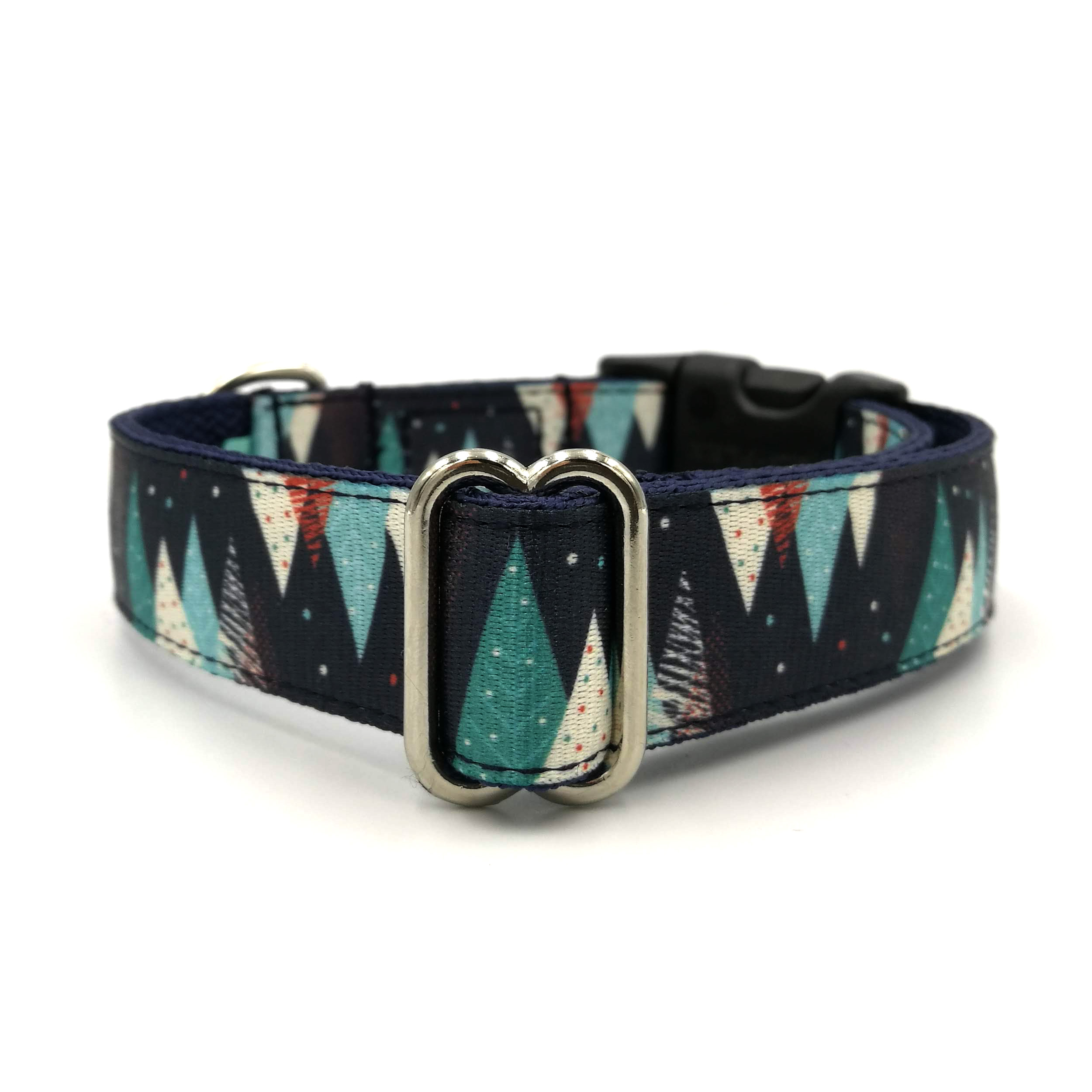Trees dog collar