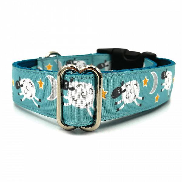 Wooly dog collar