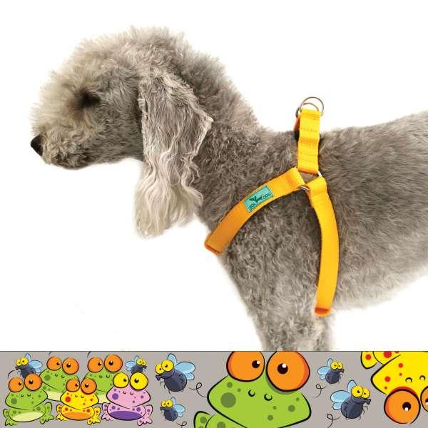 béka mintás kutyahám
