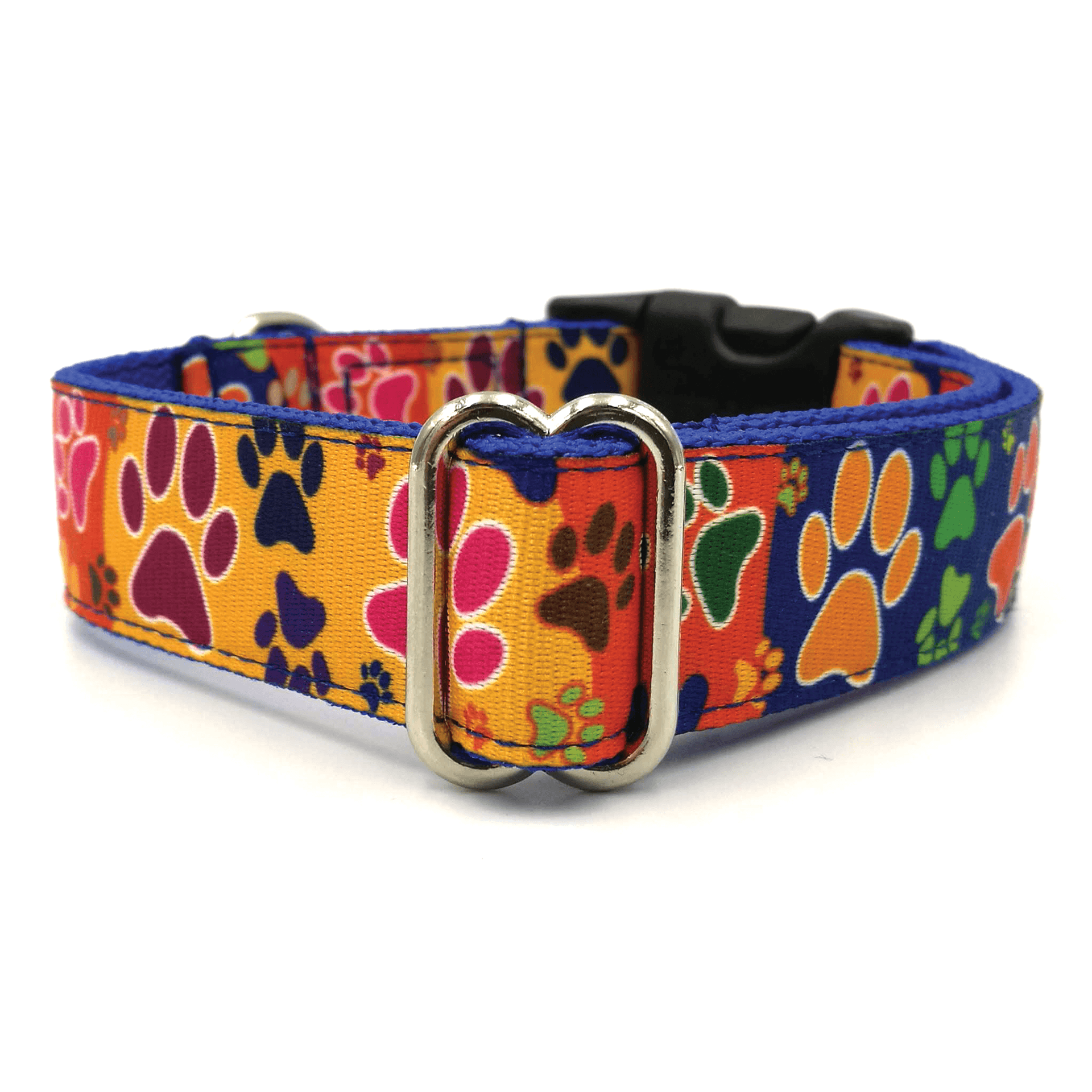 Paws dog collar