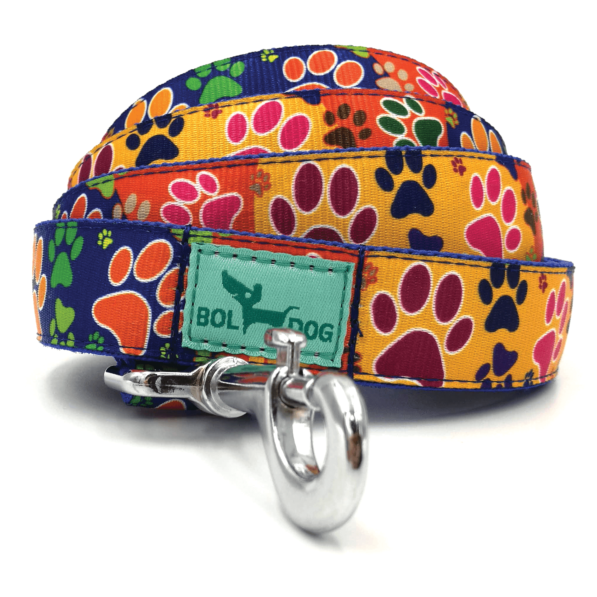 paws pattern dog leash