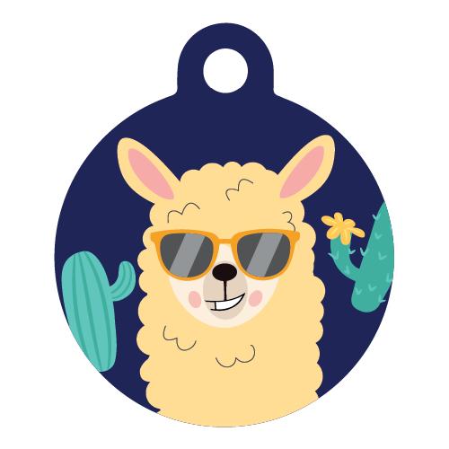 Lama dog ID tag