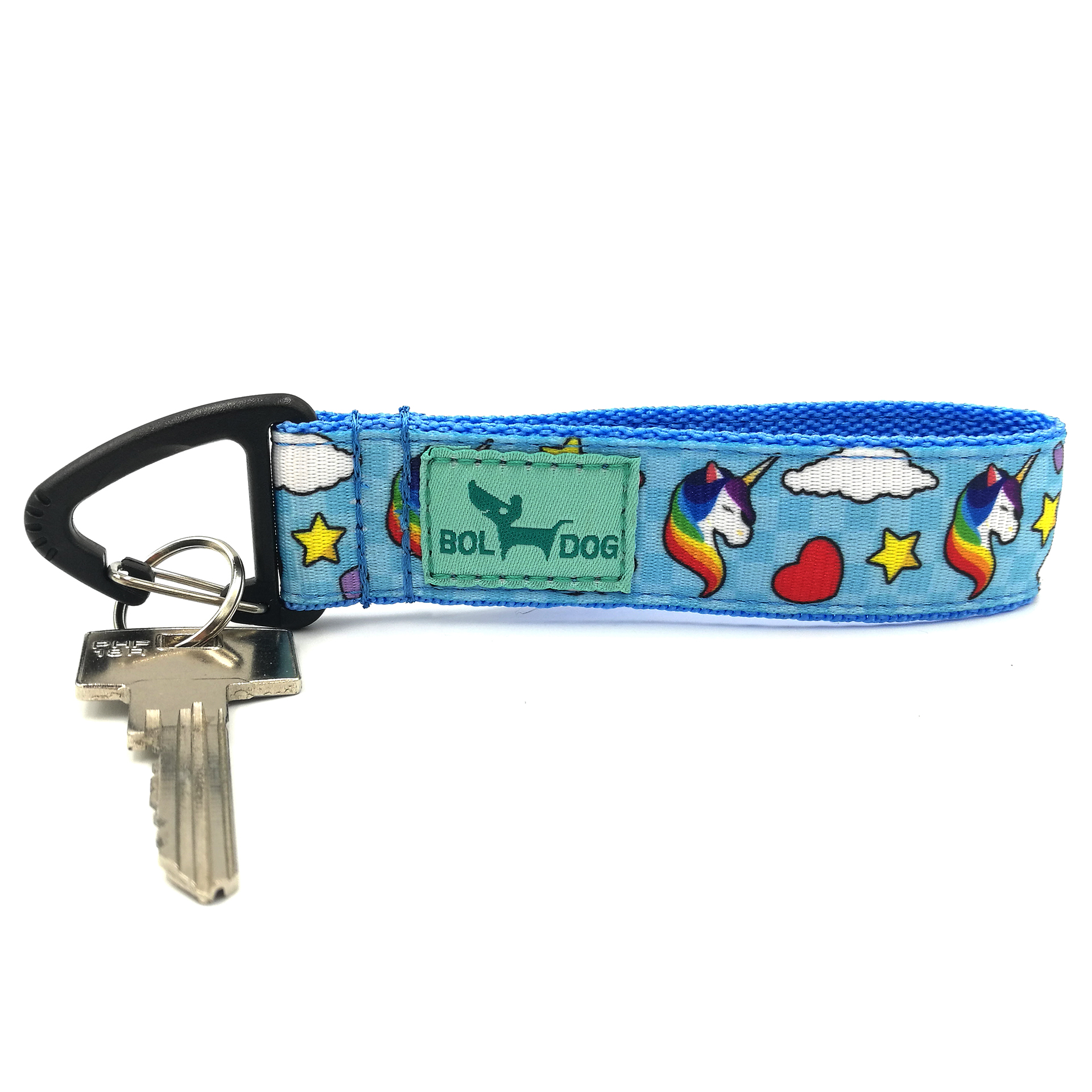 Unicorn Blue key holder