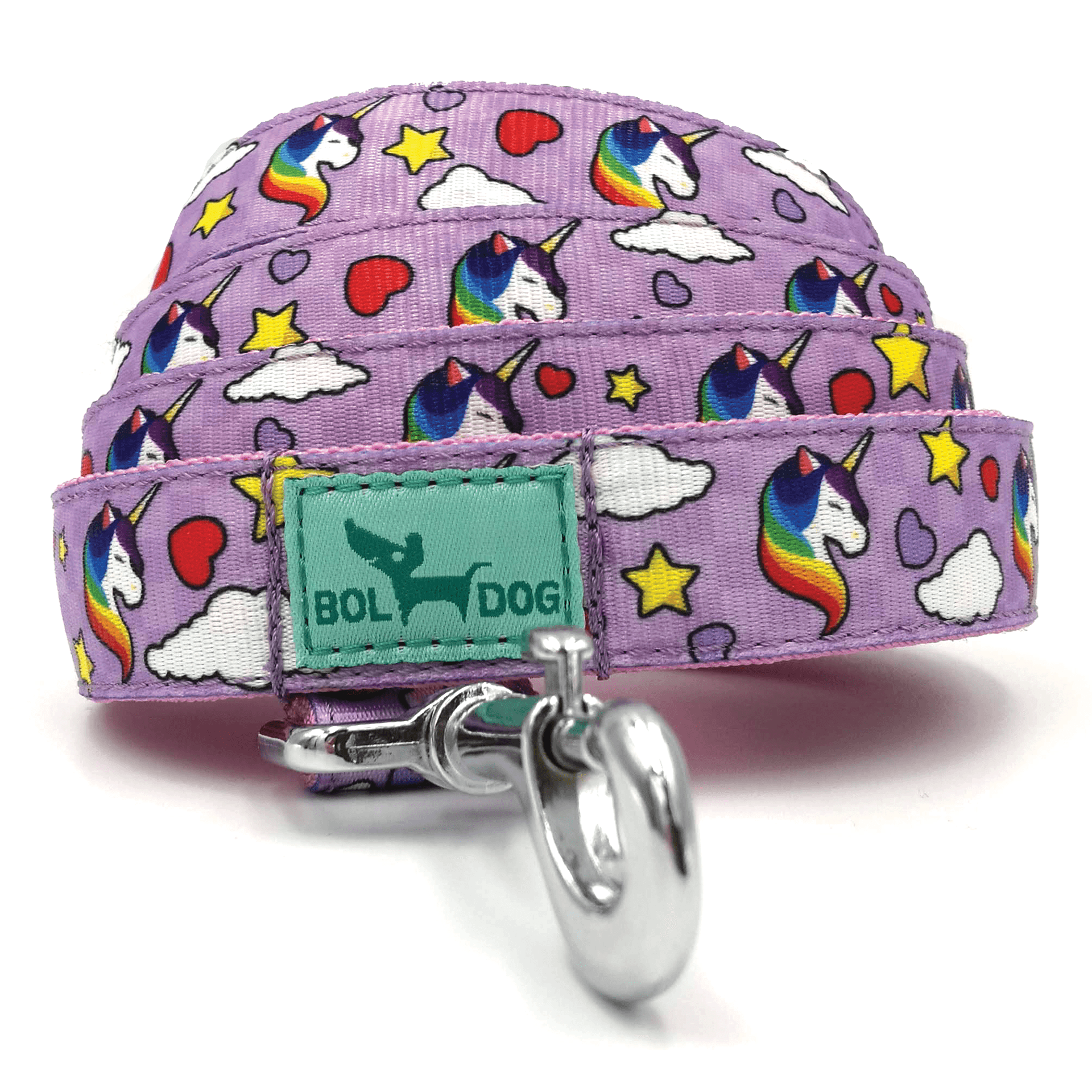 Unicorn Purple dog leash