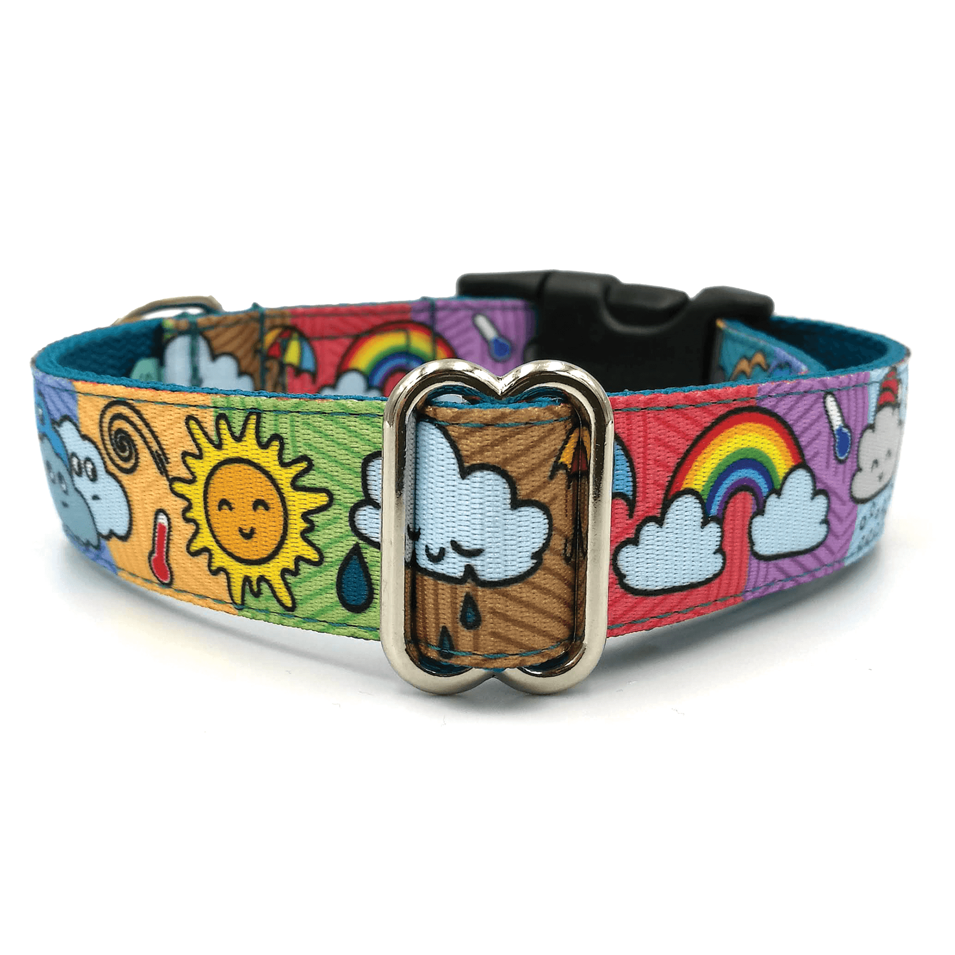 Changeable pattern dog collar
