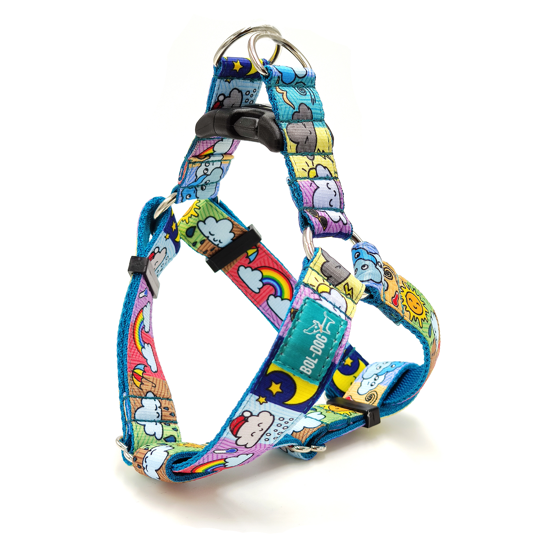 Changeable dog harness