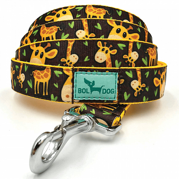 Giraffe dog leash
