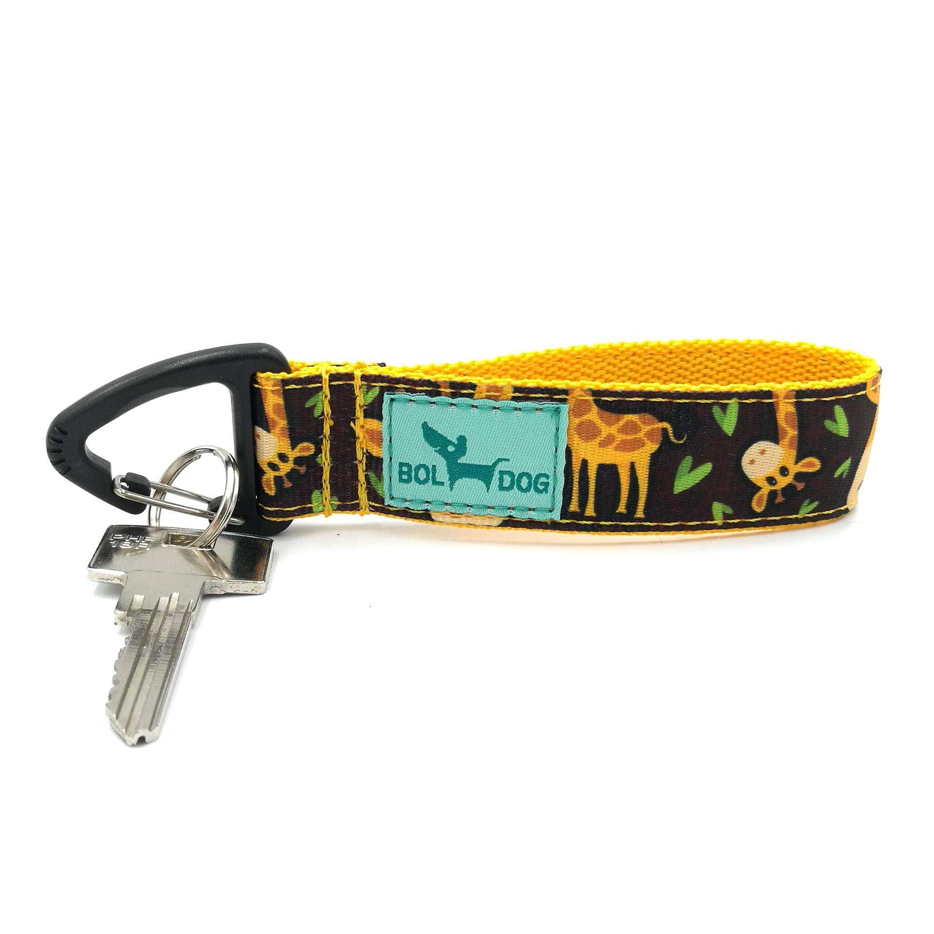 Zsiráfos kulcstartó
